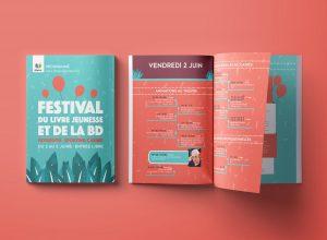 Gaetan Richard graphiste webdesigner 2018 projet festival de la BD