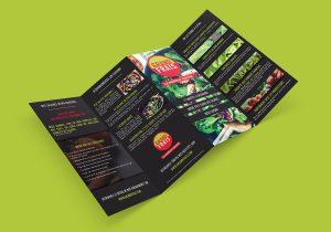 Gaetan Richard graphiste webdesigner 2018 projet Projet salades flyer grand frais