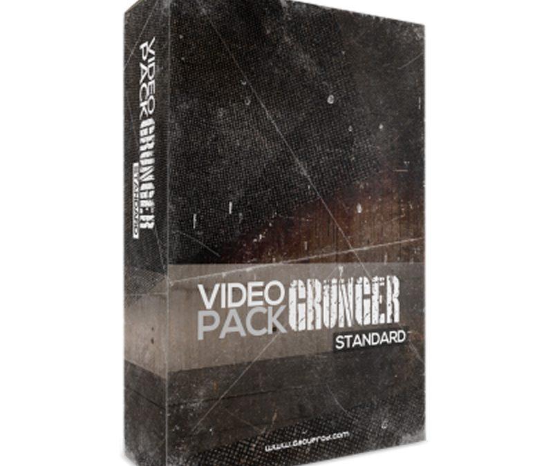 Vidéo Grunger Pack