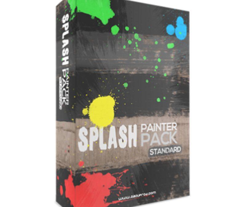 Vidéo Splash Painter Effet