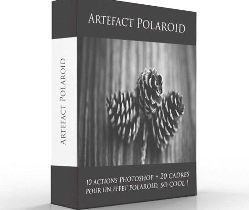 Photoshop – Artefact Polaroïd